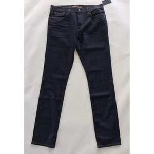 Joes Jeans Slim Fit Dark Wash Mid Rise Mens 34